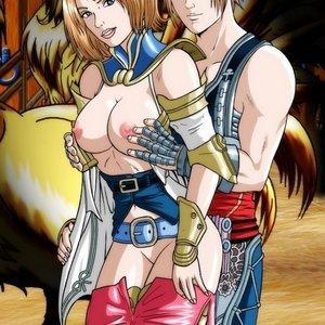 Final Fantasy comic 001 image