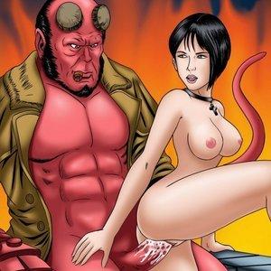 Hellboy GoGoCeleb Comics
