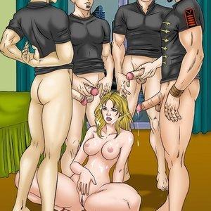 Nickelback & Britneyspears GoGoCeleb Comics