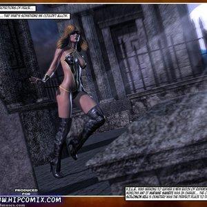 HIP Comix Hip Gals - Halloween Sex Kitten - Issue 1-16 gallery image-006