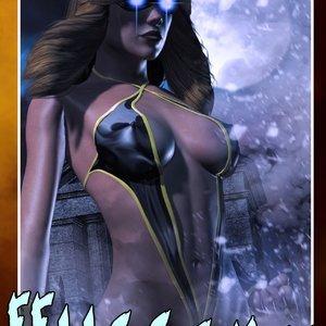 HIP Comix Hip Gals - Halloween Sex Kitten - Issue 1-16 gallery image-007
