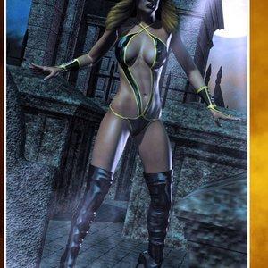 HIP Comix Hip Gals - Halloween Sex Kitten - Issue 1-16 gallery image-012