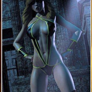 HIP Comix Hip Gals - Halloween Sex Kitten - Issue 1-16 gallery image-018