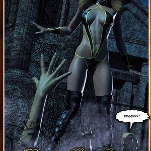 HIP Comix Hip Gals - Halloween Sex Kitten - Issue 1-16 gallery image-021