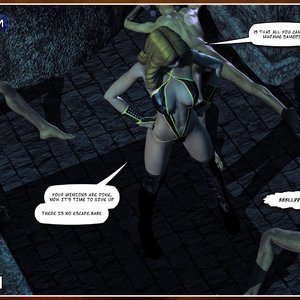 HIP Comix Hip Gals - Halloween Sex Kitten - Issue 1-16 gallery image-029