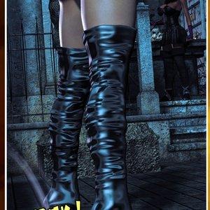 HIP Comix Hip Gals - Halloween Sex Kitten - Issue 1-16 gallery image-032