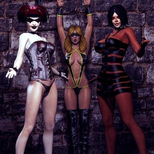 HIP Comix Hip Gals - Halloween Sex Kitten - Issue 1-16 gallery image-051