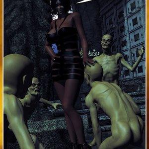 HIP Comix Hip Gals - Halloween Sex Kitten - Issue 1-16 gallery image-149