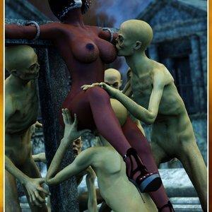 HIP Comix Hip Gals - Halloween Sex Kitten - Issue 1-16 gallery image-246