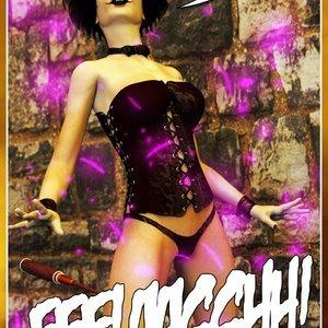 HIP Comix Hip Gals - Halloween Sex Kitten - Issue 1-16 gallery image-253
