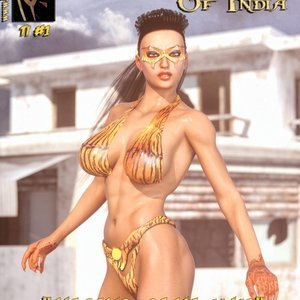 1-Tigress of India – Return of the Mahar – Issue 1-13 HIP Comix