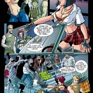 Hentaikey Comics XXX Virus - Issue 2 gallery image-011