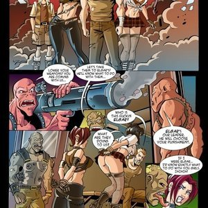 Hentaikey Comics XXX Virus - Issue 2 gallery image-015