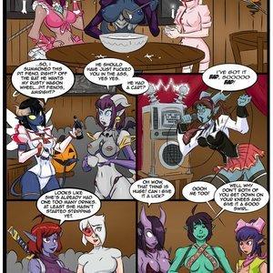 Halloween Havoc Hizzacked Comics