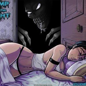 Bump in the Night Hombre Blanco Comics