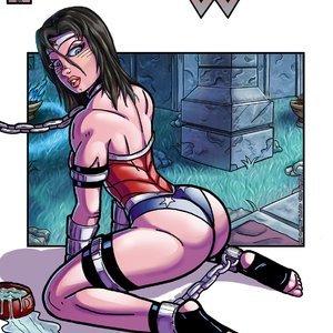 Distressed Damsels – Wonder Woman Hombre Blanco Comics