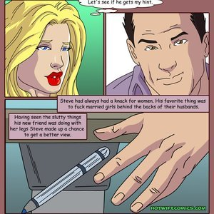 HotWife Comics Married to a Tramp gallery image-004