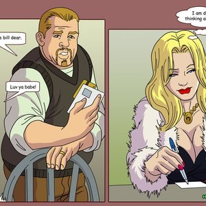 HotWife Comics Married to a Tramp gallery image-006