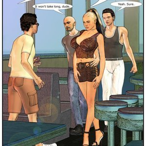 HotWife Comics Wife at the Club gallery image-013