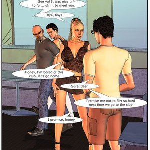HotWife Comics Wife at the Club gallery image-025