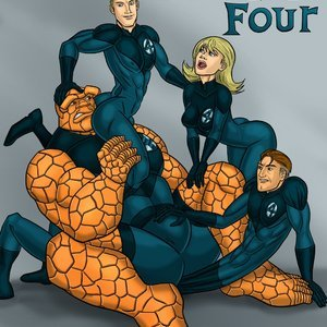 Fantastic Four Iceman Blue Comics