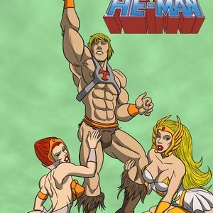 He-Man Iceman Blue Comics