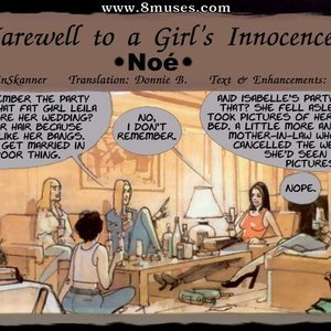 Farewel to a Girls Inocence Ignacio Noe Comics