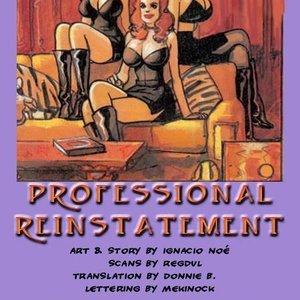 Professional Reinstallment Ignacio Noe Comics
