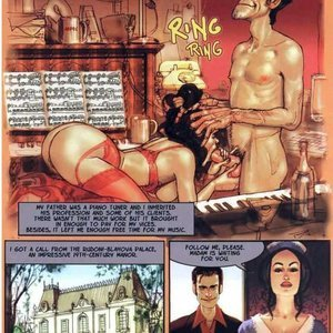 The Piano Tuner Ignacio Noe Comics