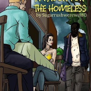 A Favor For The Homeless (IllustratedInterracial Comics) thumbnail