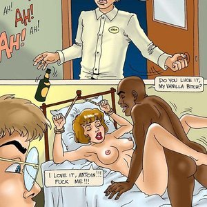 IncestBDSM Comics Promiscuous mother gets tamed gallery image-004