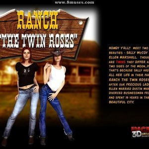 Ranch The Twin Roses. Part 1 IncestChronicles3D Comics