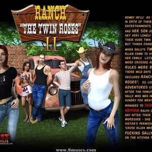 Ranch The Twin Roses. Part 2 IncestChronicles3D Comics