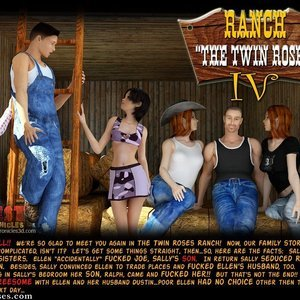 Ranch The Twin Roses. Part 4 IncestChronicles3D Comics