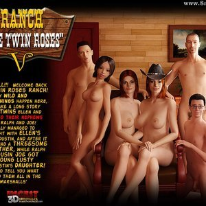 Ranch The Twin Roses. Part 5 IncestChronicles3D Comics