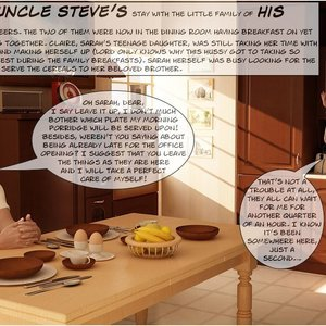Uncle Urriving. Part 2 IncestChronicles3D Comics