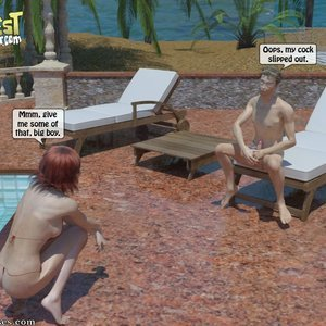 IncestIncestIncest Comics Bro and Sis Caught by Daddy gallery image-005