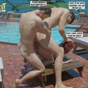 IncestIncestIncest Comics Bro and Sis Caught by Daddy gallery image-043