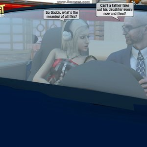 IncestIncestIncest Comics Dad & Daughter Special Night gallery image-001