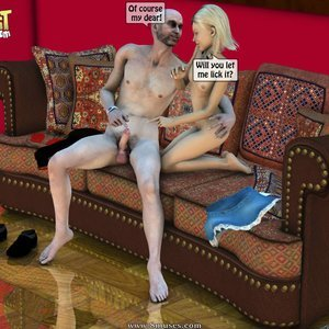 IncestIncestIncest Comics Dad & Daughter Special Night gallery image-017