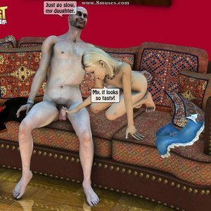 IncestIncestIncest Comics Dad & Daughter Special Night gallery image-018