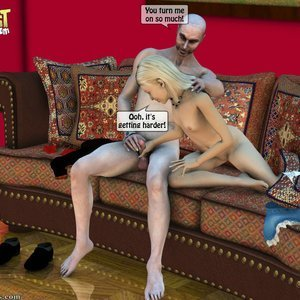 IncestIncestIncest Comics Dad & Daughter Special Night gallery image-019