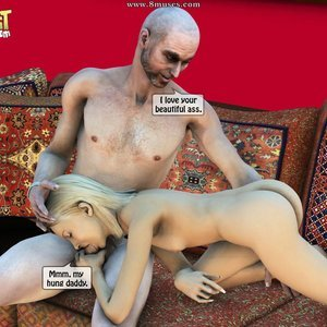 IncestIncestIncest Comics Dad & Daughter Special Night gallery image-021