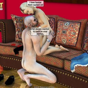 IncestIncestIncest Comics Dad & Daughter Special Night gallery image-024