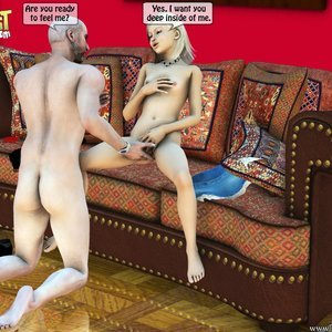 IncestIncestIncest Comics Dad & Daughter Special Night gallery image-027