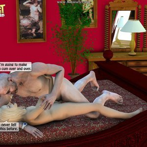IncestIncestIncest Comics Dad & Daughter Special Night gallery image-033