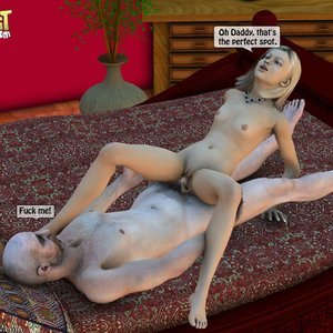 IncestIncestIncest Comics Dad & Daughter Special Night gallery image-037