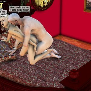 IncestIncestIncest Comics Dad & Daughter Special Night gallery image-040