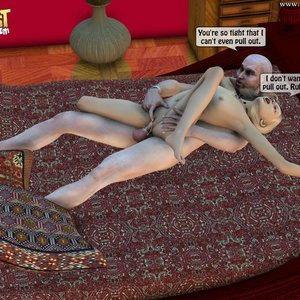 IncestIncestIncest Comics Dad & Daughter Special Night gallery image-041