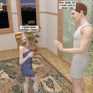 IncestIncestIncest Comics Daddys Lust for his Little Princess gallery image-006